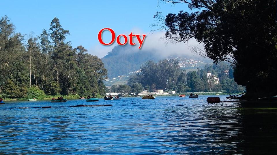 Coimbatore-Ooty-Mysore-Bangalore